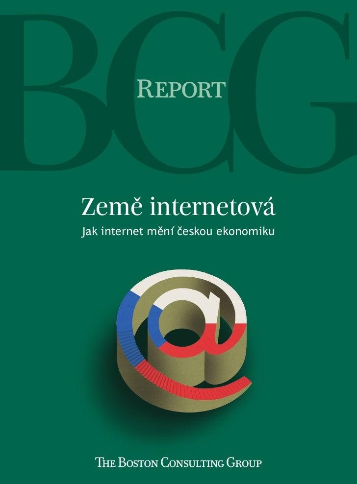ReportZemě internetováJak internet mění českou ekonomiku