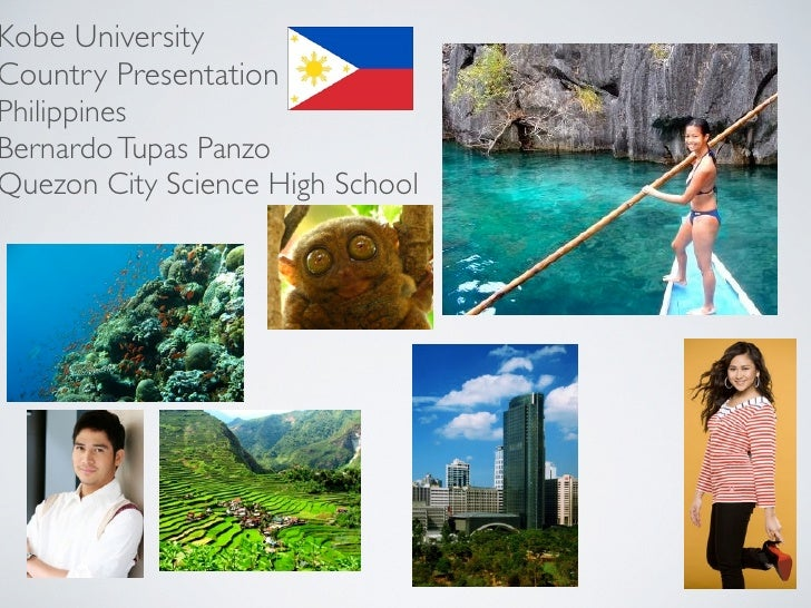 Kobe University Country Presentation Philippines Bernardo Tupas Panzo Quezon City Science High School