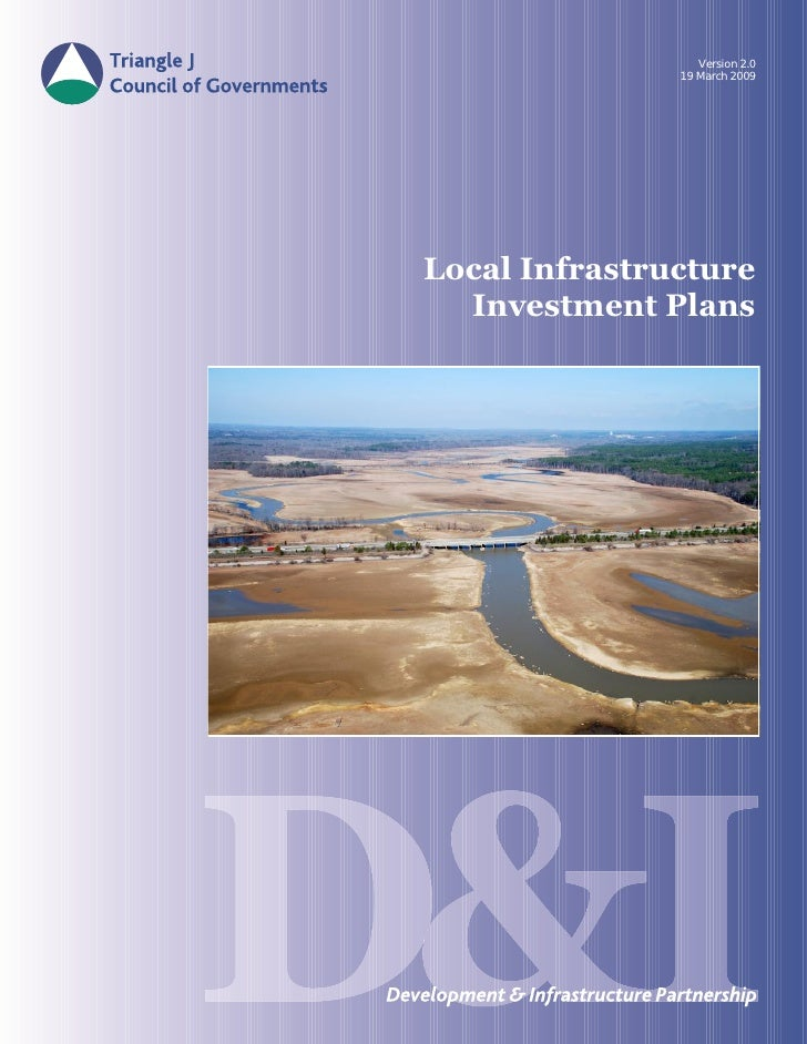 Version 2.0                19 March 2009     Local Infrastructure   Investment Plans