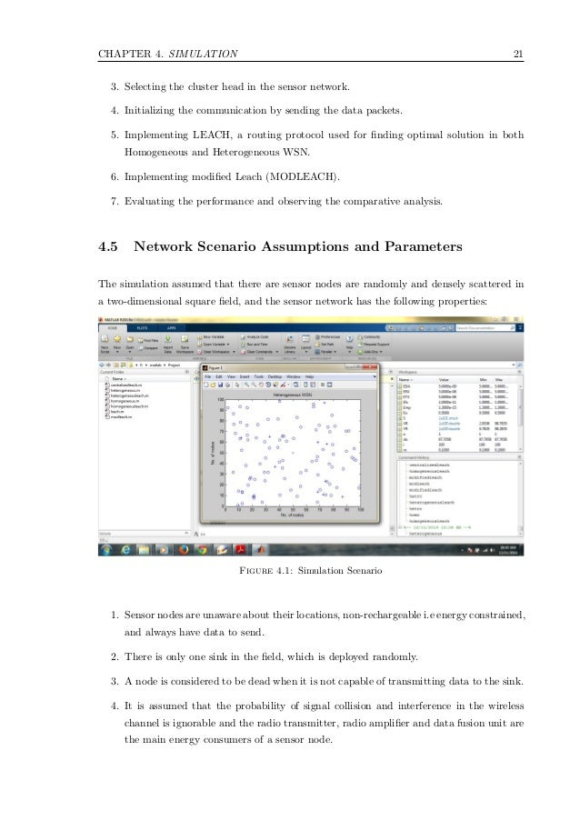 Master thesis implementation and simulation of routing protocols