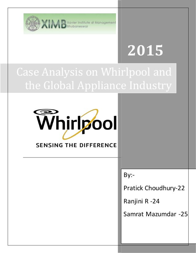 case study of whirlpool Realizing the company needed to be more nimble and foster innovation,  whirlpool executives implemented a winning workplace culture and adopted g  suite.