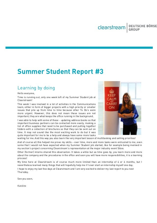 Summer Student Report #3