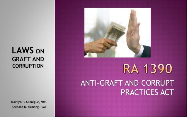 Laws on Graft and Corruption