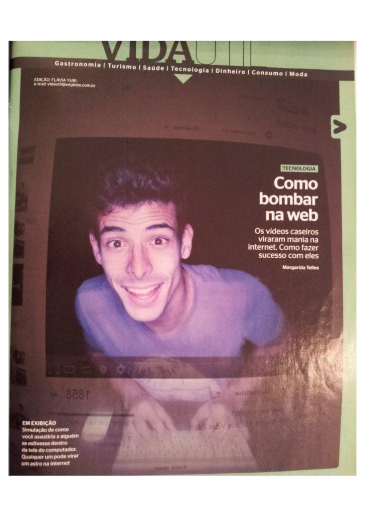 Como bombar na web