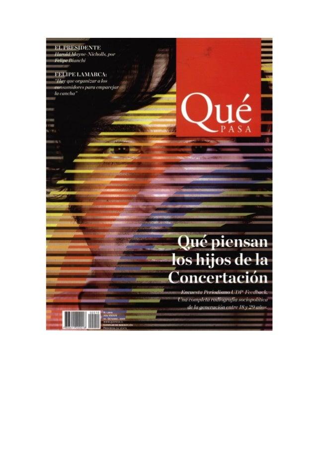 Reportaje qp encuesta periodismo udp feedback