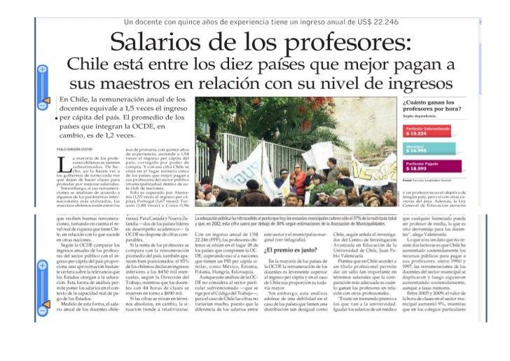 Reportaje salario profesores word
