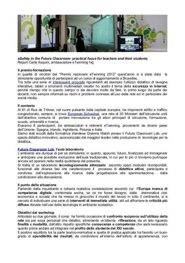eSafety in the future classroom report asquini
