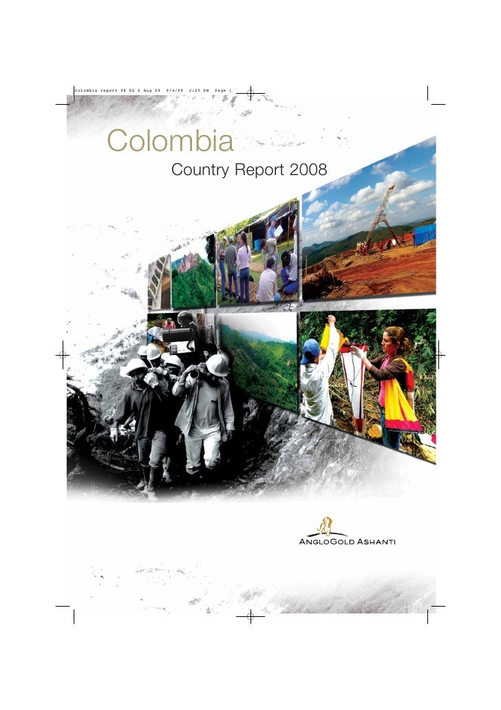 Colombia report 08 ES 6 Aug 09   9/4/09   2:25 PM   Page 1           Colombia                                  Country Rep...