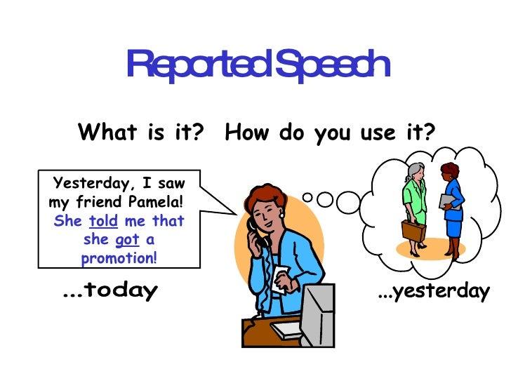 Reported Speach