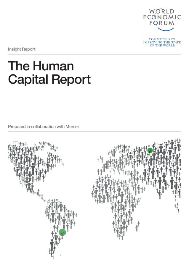 Prepared in collaboration with Mercer The Human Capital Report Insight Report