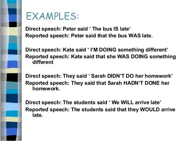 Example Of Essay Speech