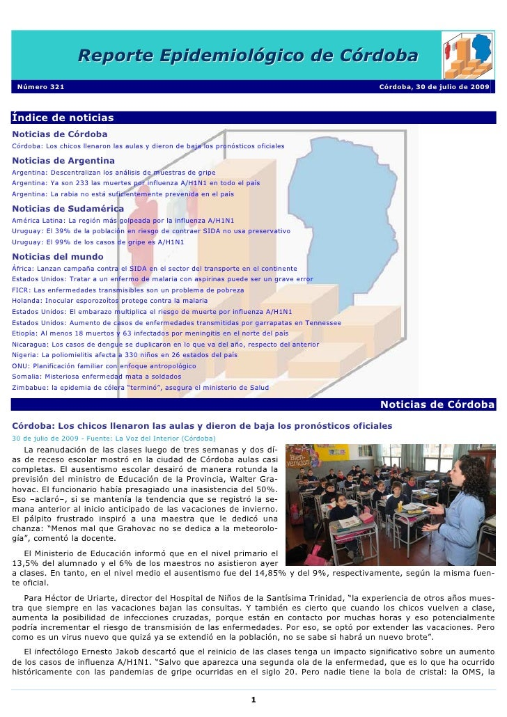 Reporte Epidemiologico De Cordoba[1]