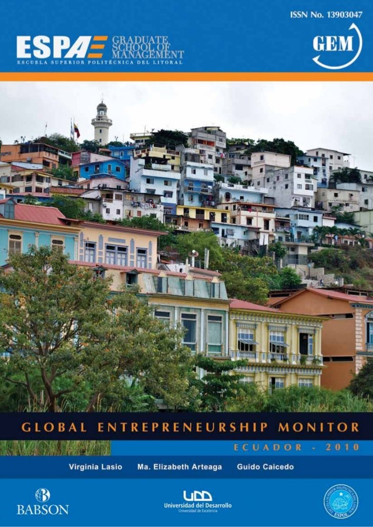 GLOBAL                                               ENTREPRENEURSHIP MONITOR                                             ...
