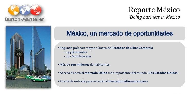 Reporte México                                                              Doing business in Mexico                      ...