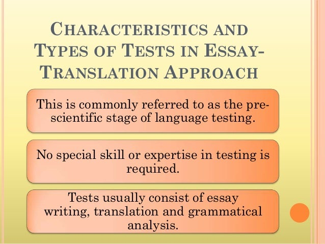 Translate a essay