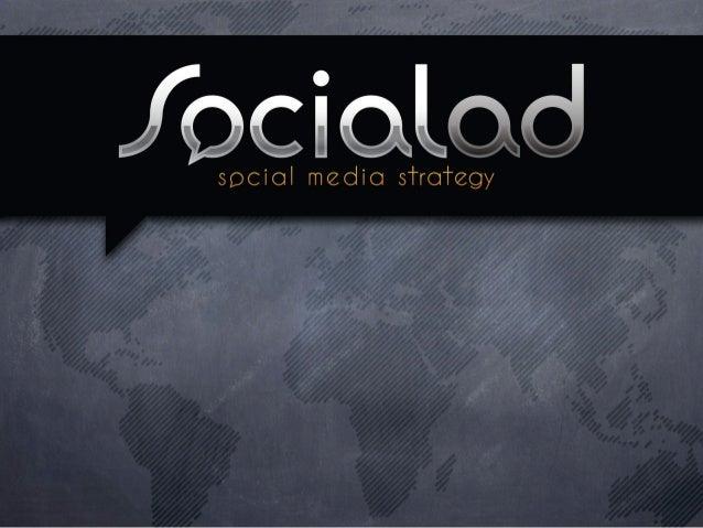 Socialad             metodología              reporte              experiencia    contactoSomos la agencia boutique de Soc...