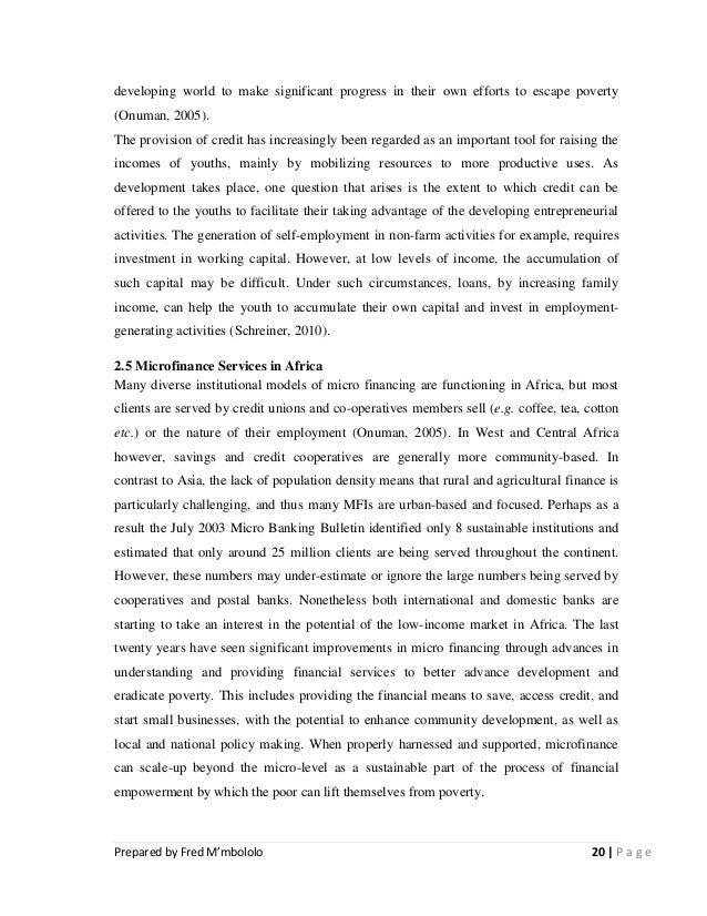 Dissertation on the