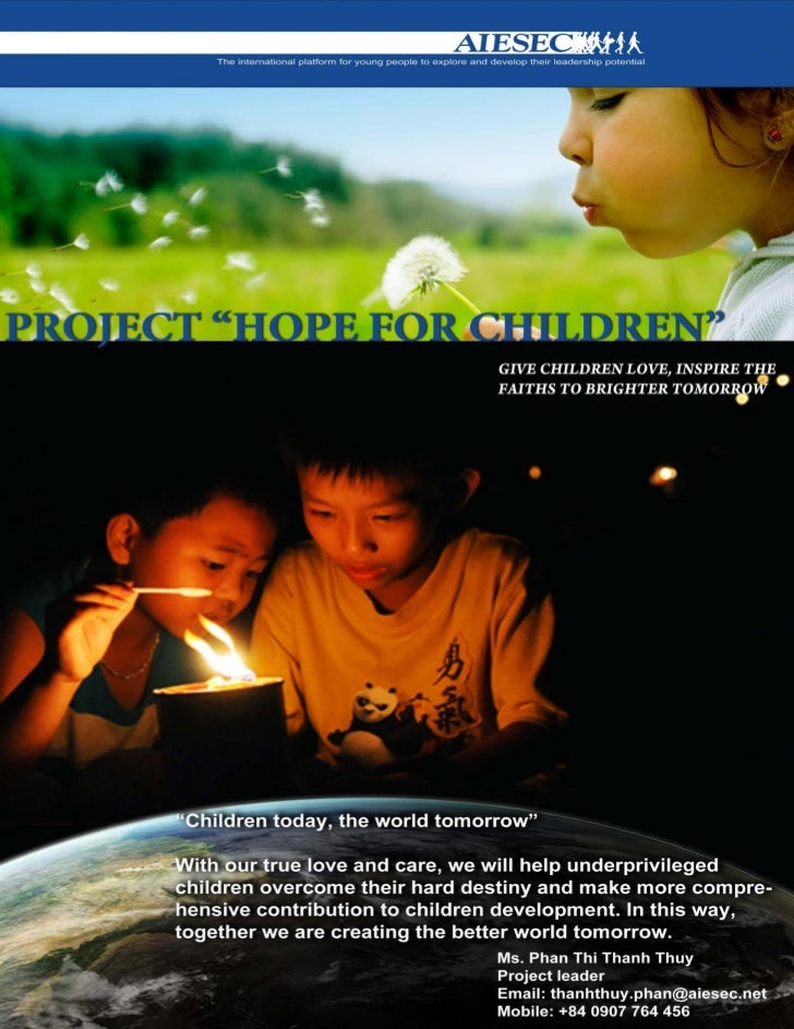 Hope For Children Project Report