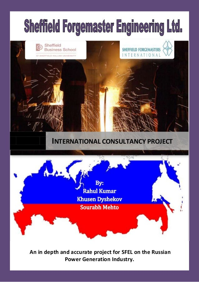 By: Rahul Kumar Khusen Dyshekov Sourabh Mehto An in depth and accurate project for SFEL on the Russian Power Generation In...
