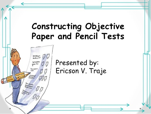construction of paper pencil test Before testing the soil, it's useful to perform a visual test of the construction site which is sometimes called the pencil test occupational safety and health frequently asked questions a - z index.