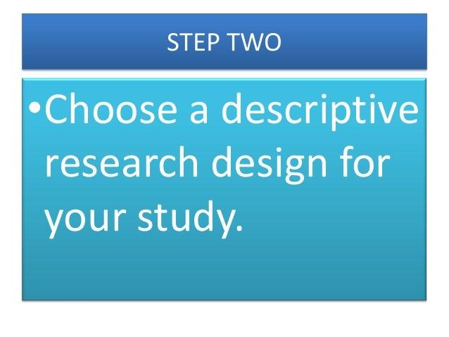 Descriptive research wiki