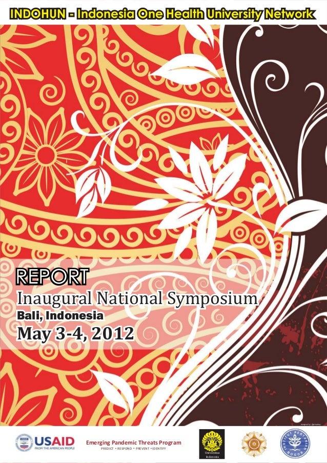 Report indohun symposium 2012