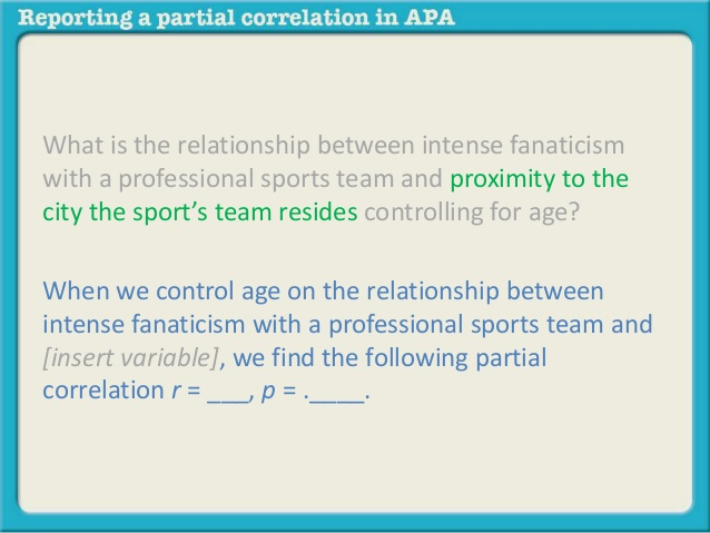 pearson r correlation table apa 2