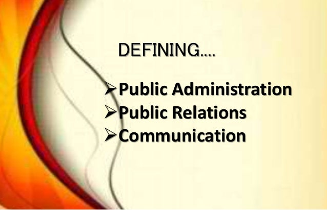 What is the difference between public administration and public affairs?
