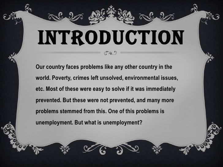 Write my problem of unemployment essay