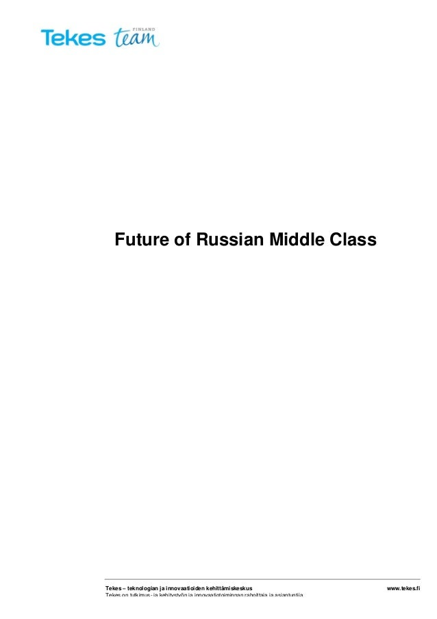 Report: Future of Russian Middle Class