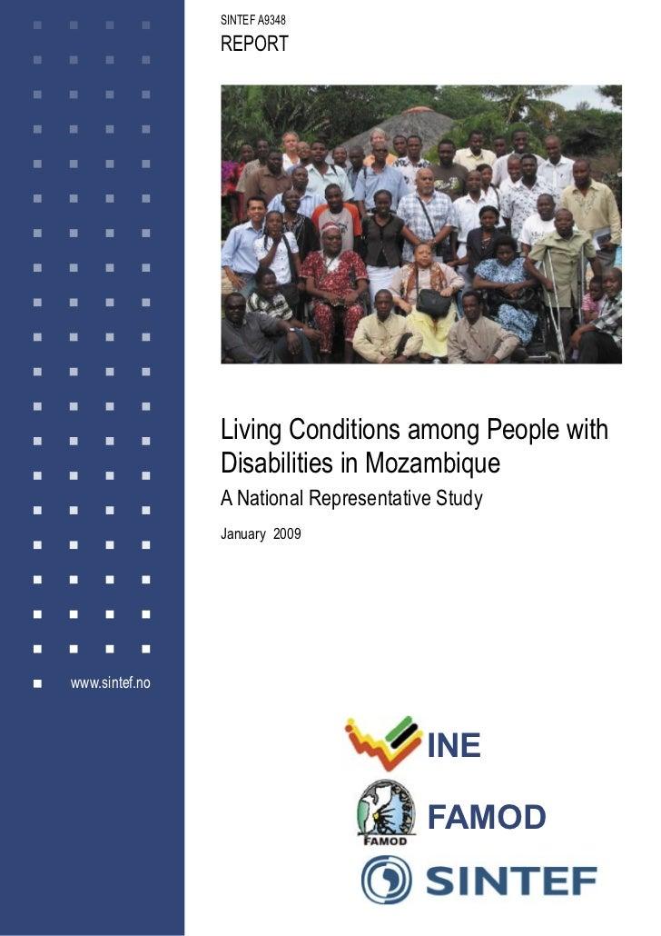 Report Mozambique Disability