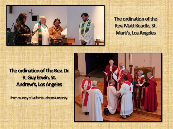 Report of the Bishop - Synod Assembly 2012