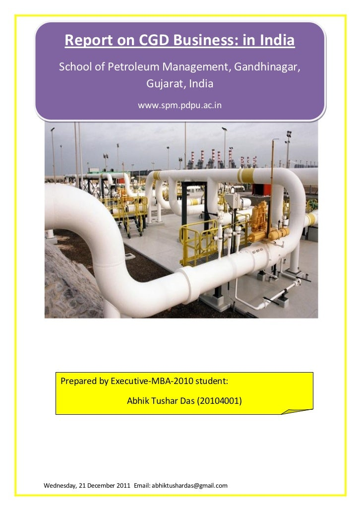 CGD Business in India: a report
