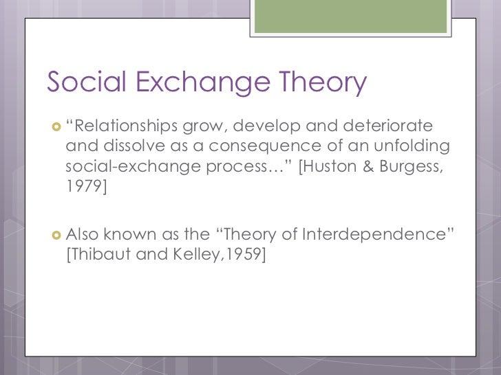 interpersonal relationships development and deterioration essay