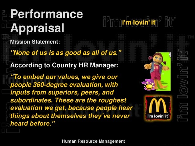 mcdonalds hr Audrey chin, hr director for mcdonald's restaurants, speaks to sabrina zolkifi about how word of mouth has helped the company recruit some of the best and brightest talent.