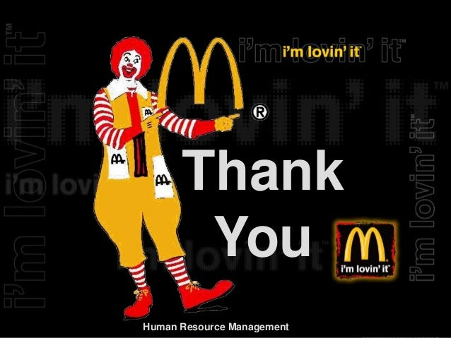 analysis of hrm of mcdonald's Analysis of mcdonalds hr policies business essay introduction motivation at work is viewed increasingly as being a significant factor in contributing to a company's overall success in achieving corporate goals.