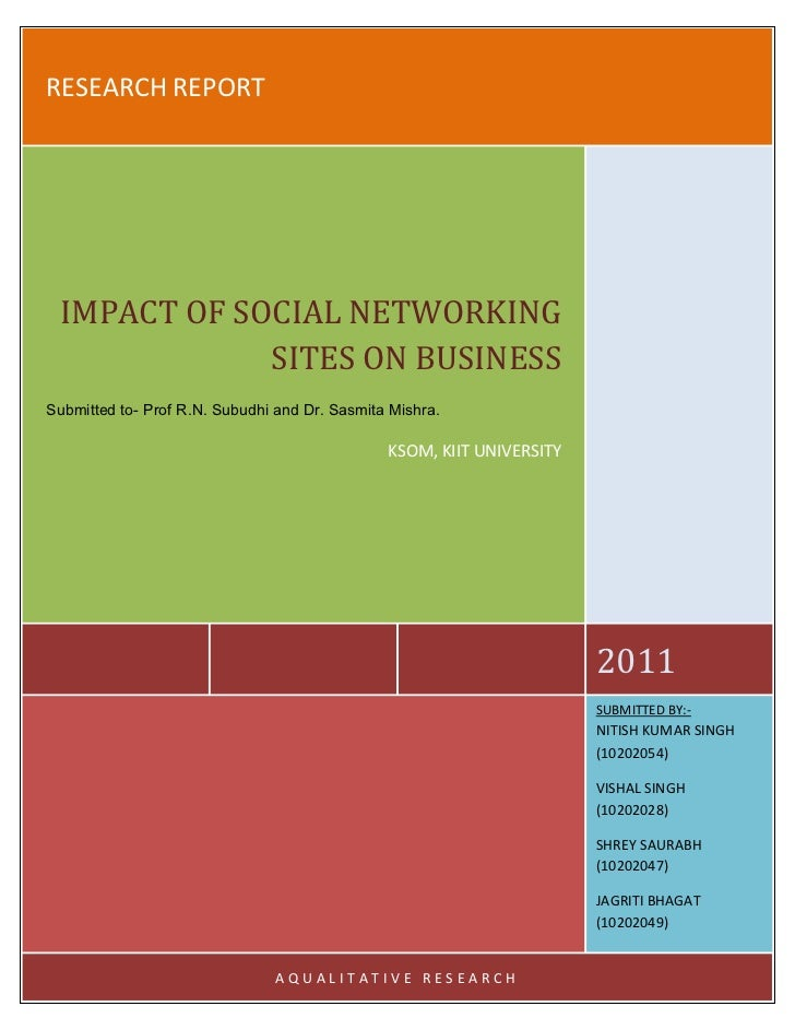 impact of social networking sites on business