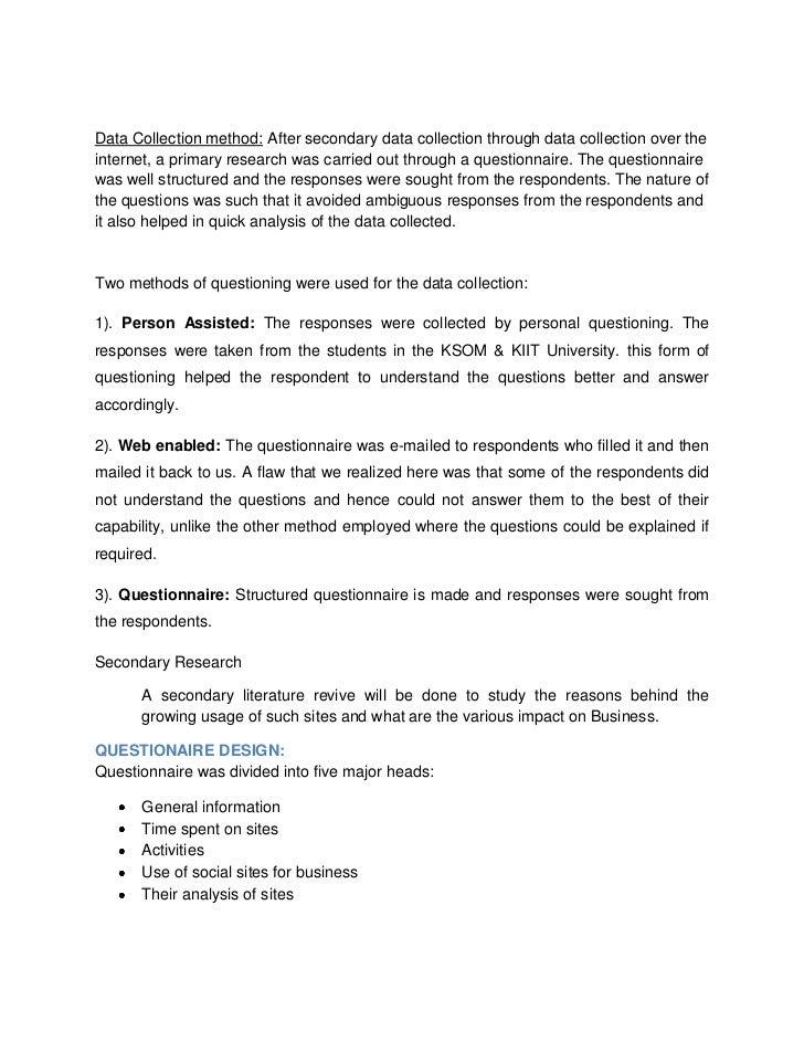 Research Proposal Social Media Marketing Social Media La