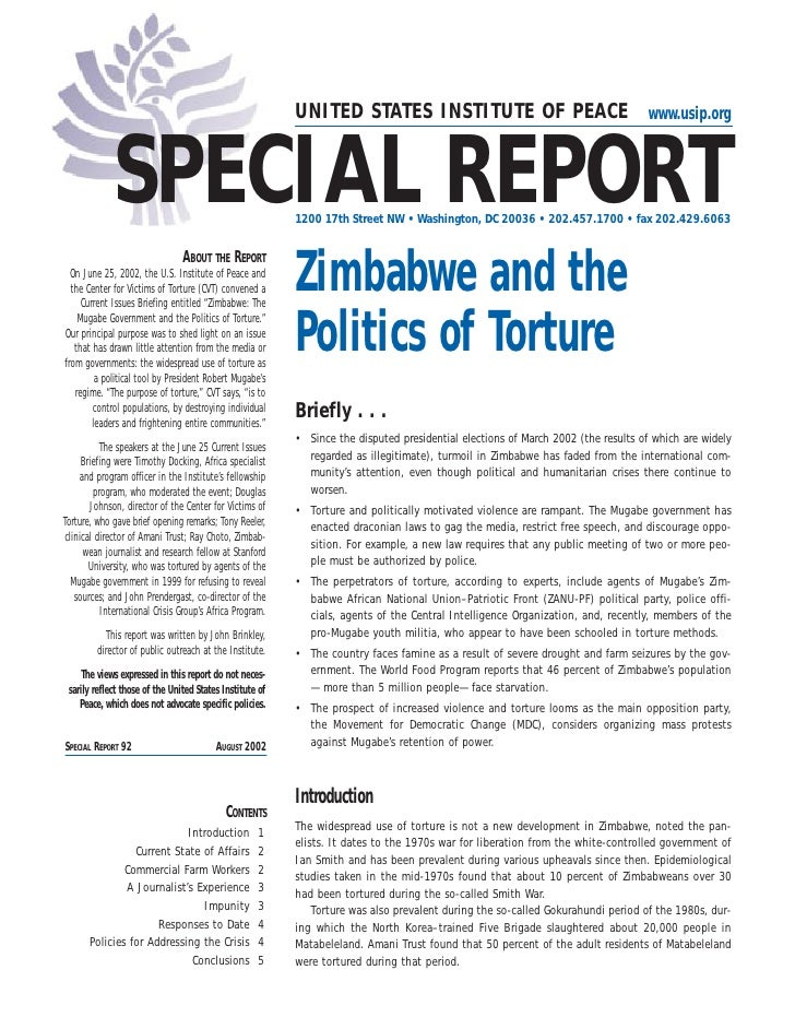 Report on torture