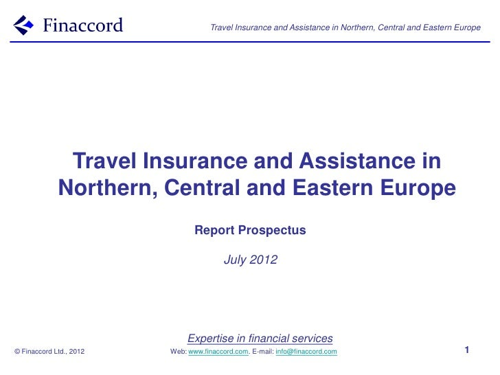 Travel Insurance and Assistance in Northern, Central and Eastern Europe              Travel Insurance and Assistance in   ...