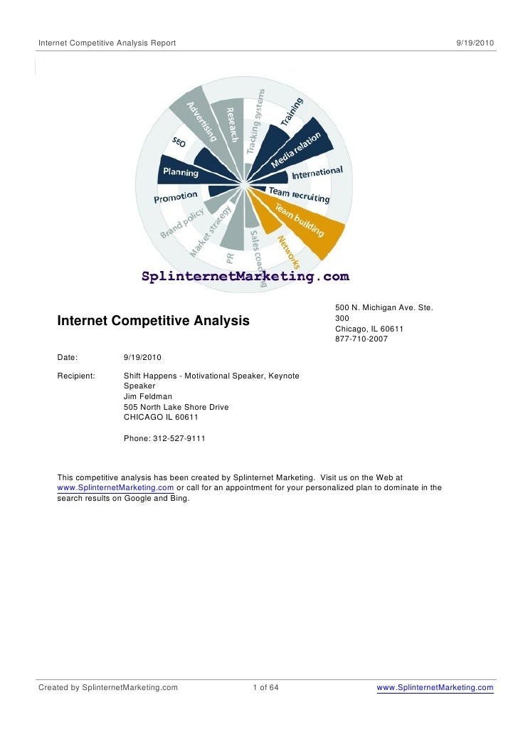 Internet Competitive Analysis Report                                                                        9/19/2010     ...