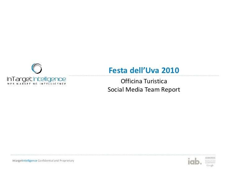 Report social media team elbauva2010