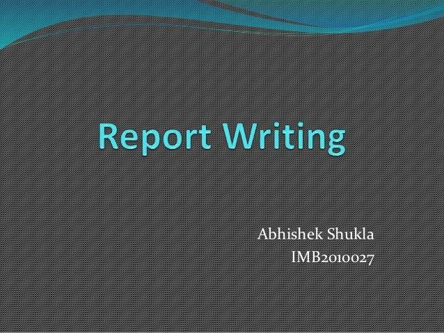 Abhishek Shukla IMB2010027