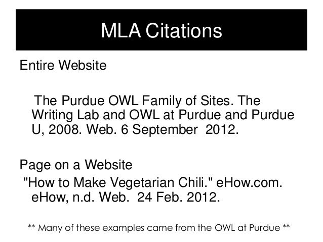 purdue owl literature review paper