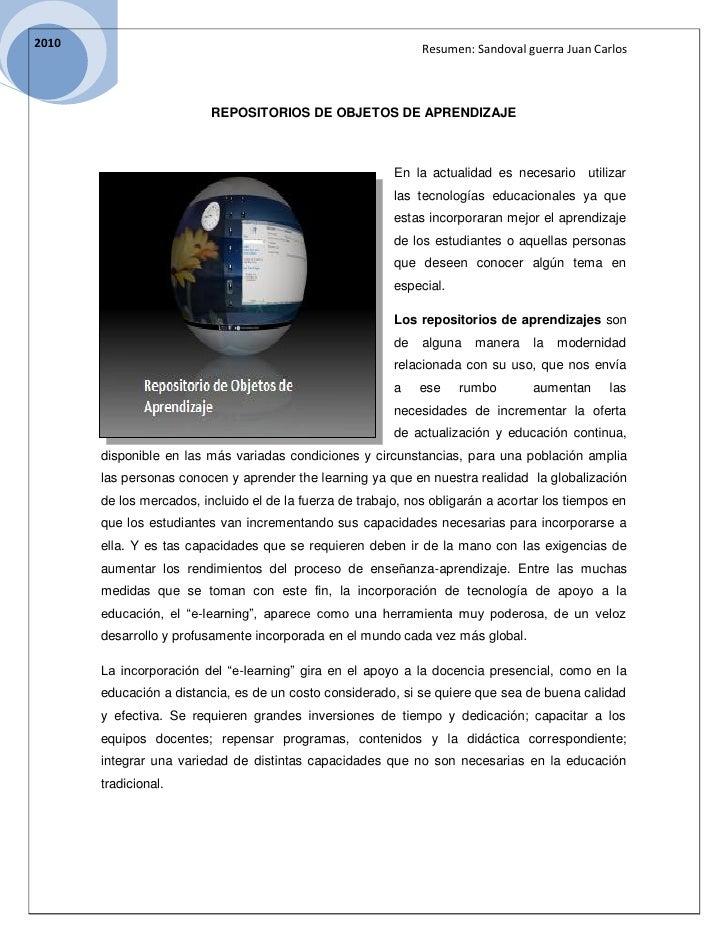 2010                                                                Resumen: Sandoval guerra Juan Carlos                  ...