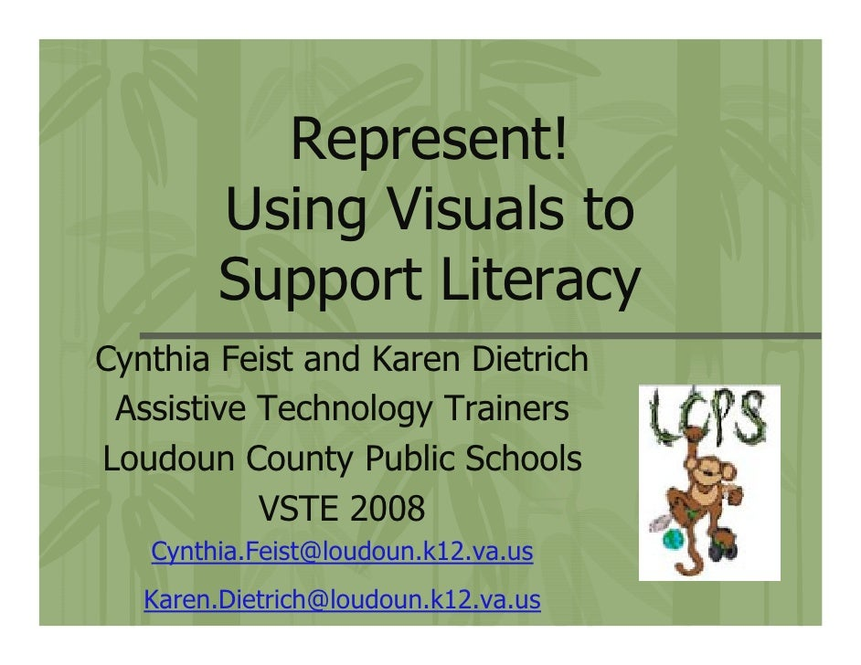 Represent! Using Visuals to Support Literacy Skills