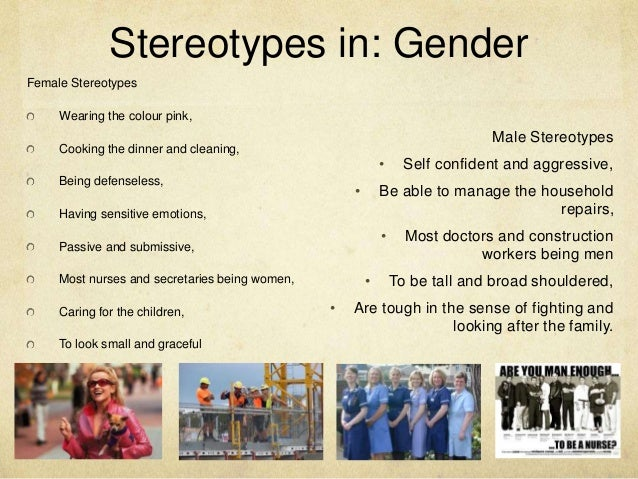 women essay stereotypes The influence of media on views of gender  women, media are the most pervasive and one of the most  women also reflect cultural stereotypes that depart markedly.