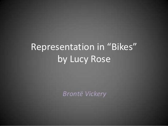 "Representation in ""bikes"""
