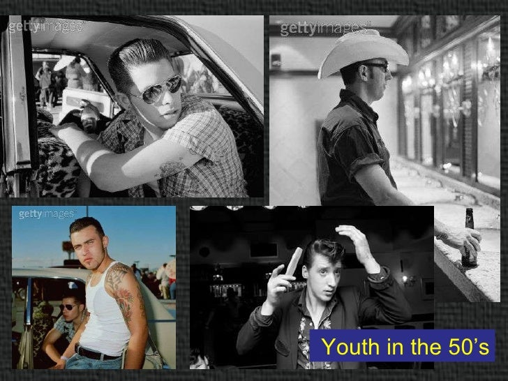 Representation of Youth in 50's, 60's, 70's and 80's