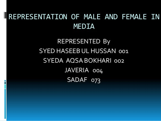 representation women media essay Essay: asian misrepresentation in media propels stereotypes  many people in the asian-american community may not care about media representation or may choose to .